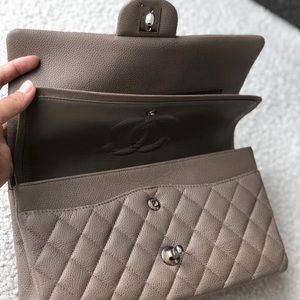 CHANEL Bags - Authentic Chanel CF Caviar Leather